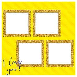 "Scrapbook template ""Amber (backgrounds) #13"" in ""St Valentine"""