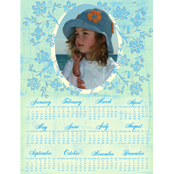 "Scrapbook template ""Calendar2009 #07"" in ""Calendars 2009"""