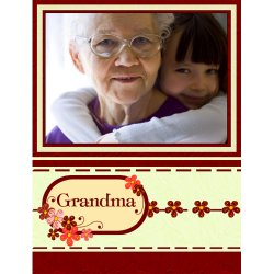 "Scrapbook template ""Mothers Day #17"" in ""Mother`s Day"""
