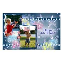 "Scrapbook template ""Independence Day Card #9"" in ""Independence"""