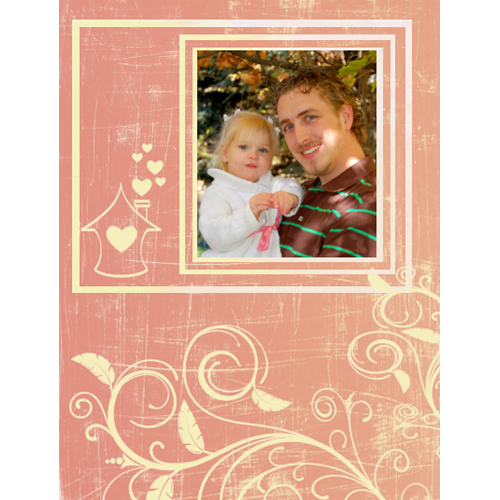 "Scrapbook template ""Home #19"" in ""Home"""