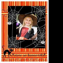 "Scrapbook template ""PhotoMix Little Witch #2"" in ""Halloween"""