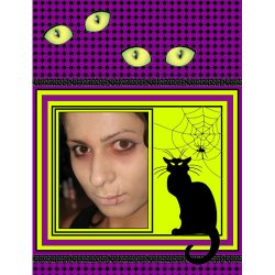 "Scrapbook template ""Halloween2008 #09"" in ""Halloween"""
