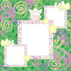 "Scrapbook template ""Lundy"
