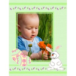 "Scrapbook template ""Easter #13"" in ""Easter"""