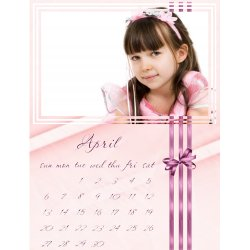 "Scrapbook template ""April #07"" in ""Calendars 2008"""