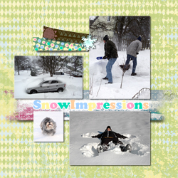 "Scrapbook template ""Winter 2011 #04"" in ""Seasonal"""
