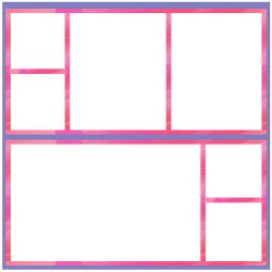 "Scrapbook template ""Pink (backgrounds) #27"" in ""Backgrounds"""