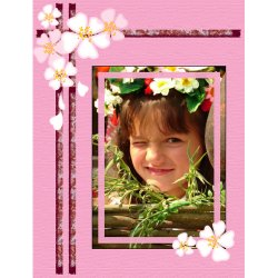 "Scrapbook template ""Spring #12"" in ""Spring"""