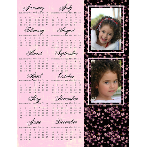 "Scrapbook template ""Calendar2009 #19"" in ""Calendars 2009"""