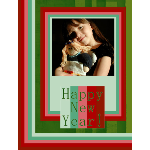 "Scrapbook template ""New Year 2009 #07"" in ""New Year"""