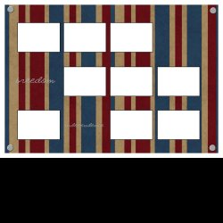 "Scrapbook template ""Freedom Template #3"" in ""Military"""