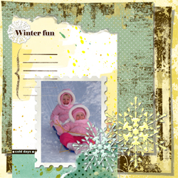 "Scrapbook template ""Winter 2011 #06"" in ""Seasonal"""