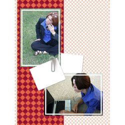 "Scrapbook template ""Career firsts #07"" in ""Firsts"""