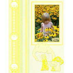"Scrapbook template ""Nature #09"" in ""Nature"""
