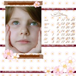 "Scrapbook template ""May2008 #06"" in ""Calendars 2008"""