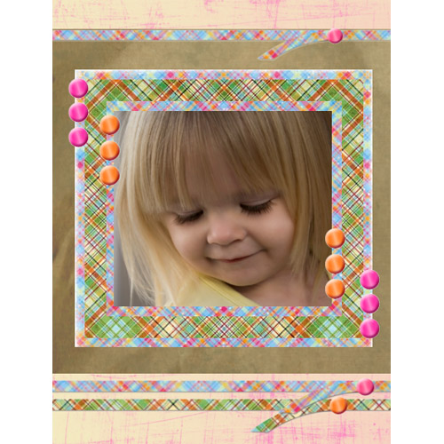 "Scrapbook template ""Easter #33"" in ""Easter"""