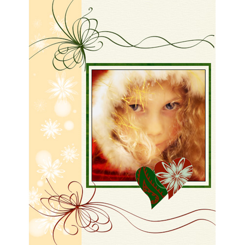 "Scrapbook template ""New Year 2009 #01"" in ""New Year"""