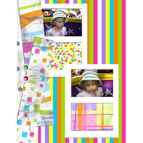 "Scrapbook template ""Playground #17"" in ""Family"""