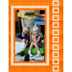 "Scrapbook template ""Friends #17"" in ""Friends Scrapbooking"""