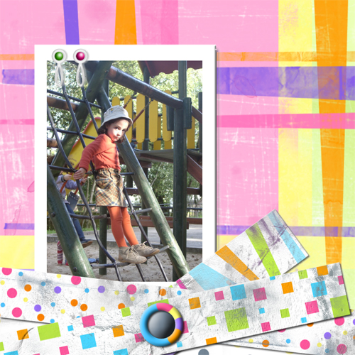 "Scrapbook template ""Playground #14"" in ""Family"""