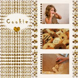 "Scrapbook template ""Food #16"" in ""Food"""