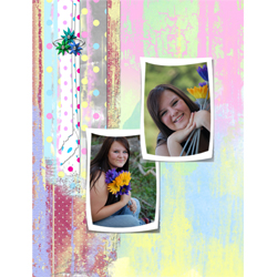 "Scrapbook template ""Teenagers #07"" in ""Teenagers"""