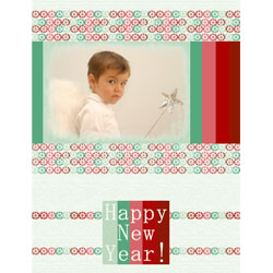 "Scrapbook template ""New Year 2009 #09"" in ""New Year"""