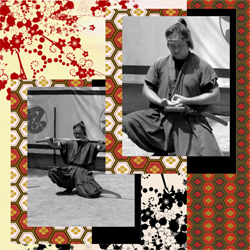 "Scrapbook template ""Japan #16"" in ""Travel"""