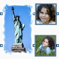 "Scrapbook template ""Memorial Day #25"" in ""Memorial Day"""