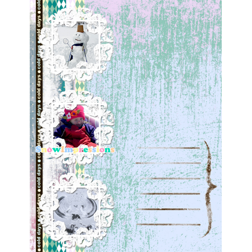 "Scrapbook template ""Winter 2011 #05"" in ""Seasonal"""