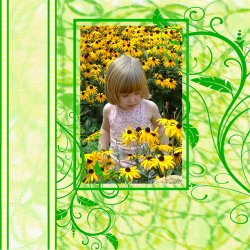 "Scrapbook template ""Nature #06"" in ""Nature"""