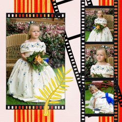 "Scrapbook template ""Cinema #14"" in ""Fan Pages"""