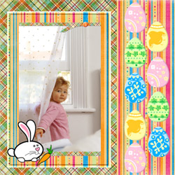 "Scrapbook template ""Easter #36"" in ""Easter"""