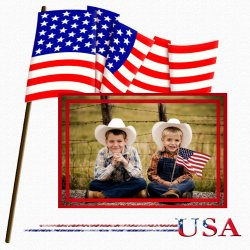 "Scrapbook template ""Memorial Day #23"" in ""Memorial Day"""