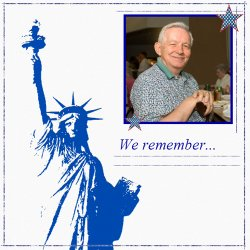"Scrapbook template ""Memorial Day #21"" in ""Memorial Day"""