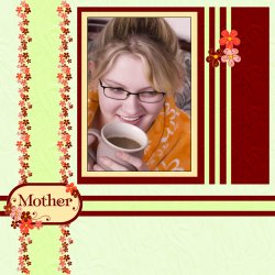 "Scrapbook template ""Mothers Day #11"" in ""Mother`s Day"""