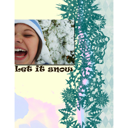 "Scrapbook template ""Winter 2011 #15"" in ""Seasonal"""