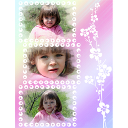 "Scrapbook template ""Spring #26"" in ""Spring"""