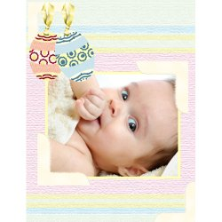 "Scrapbook template ""Easter #16"" in ""Easter"""