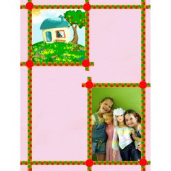 "Scrapbook template ""Home #09"" in ""Home"""