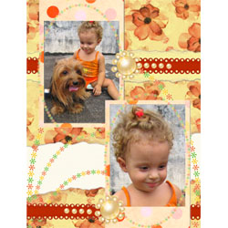 "Scrapbook template ""Family #13"" in ""Family"""