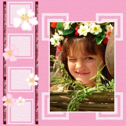 "Scrapbook template ""Spring #02"" in ""Spring"""