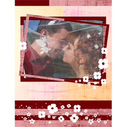 "Scrapbook template ""Love #11"" in ""Love Scrapbooking"""