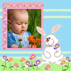 "Scrapbook template ""Easter #01"" in ""Easter"""