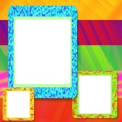 "Scrapbook template ""Rainbow (backgrounds) #16"" in ""Backgrounds"""