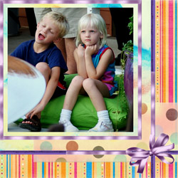 "Scrapbook template ""Friends #29"" in ""Friends Scrapbooking"""