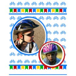 "Scrapbook template ""Sport #12"" in ""Sport"""