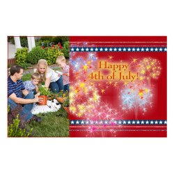 "Scrapbook template ""Independence Day Card #1"" in ""Independence"""