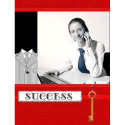 "Scrapbook template ""Career firsts #09"" in ""Firsts"""